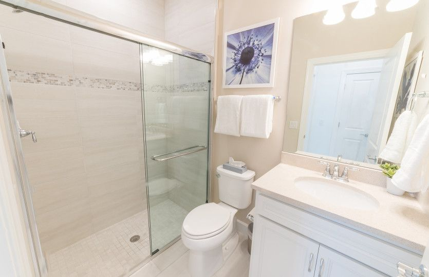 Bathroom featured in the Kendrick By Del Webb in Naples, FL