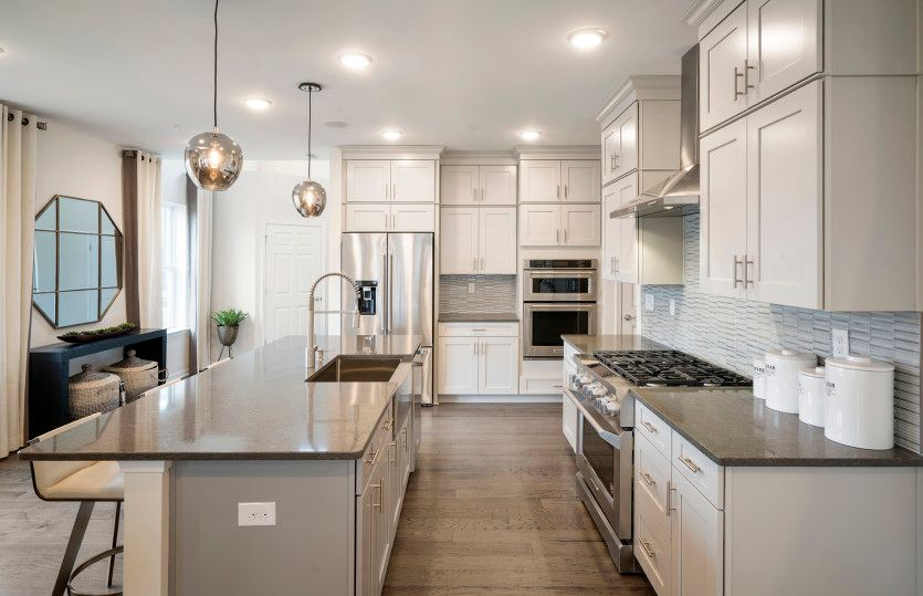 Kitchen featured in the Milan By Del Webb in Morris County, NJ