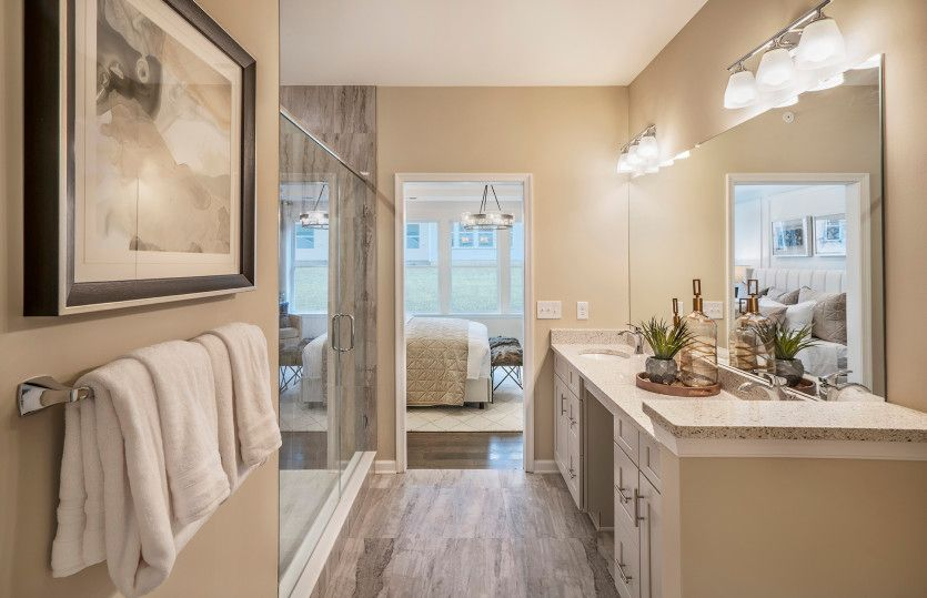 Bathroom featured in the Milan By Del Webb in Morris County, NJ