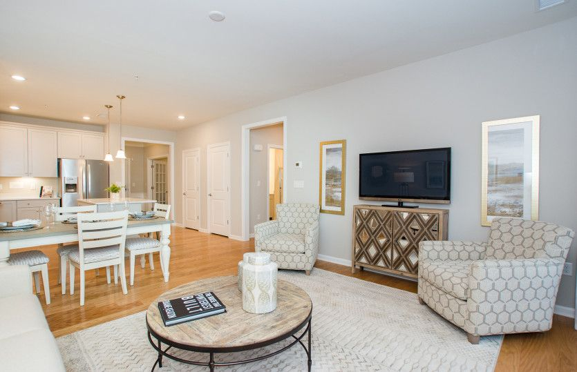 Living Area featured in the Jefferson By Del Webb in Worcester, MA
