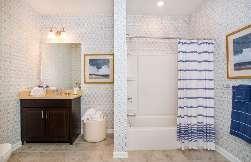 Bathroom featured in the Innsbrook By Del Webb in Worcester, MA