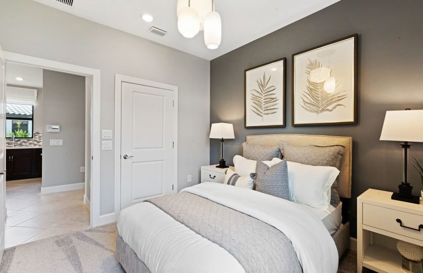 Bedroom featured in the Contour By Del Webb in Naples, FL