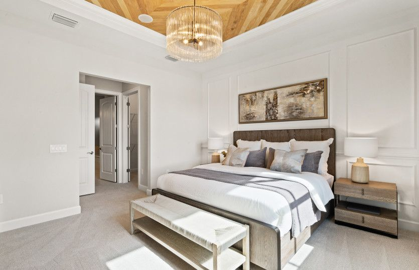 Bedroom featured in the Prestige By Del Webb in Naples, FL
