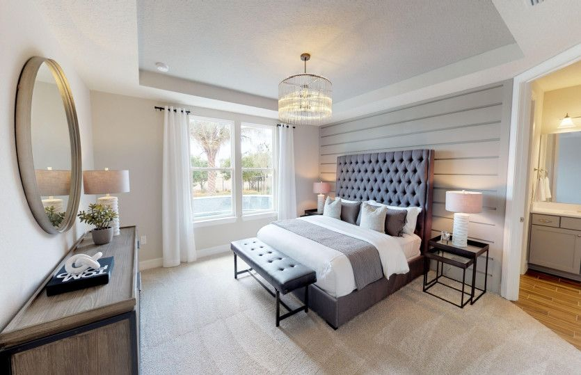 Bedroom featured in the Mainstay By Del Webb in Hilton Head, SC