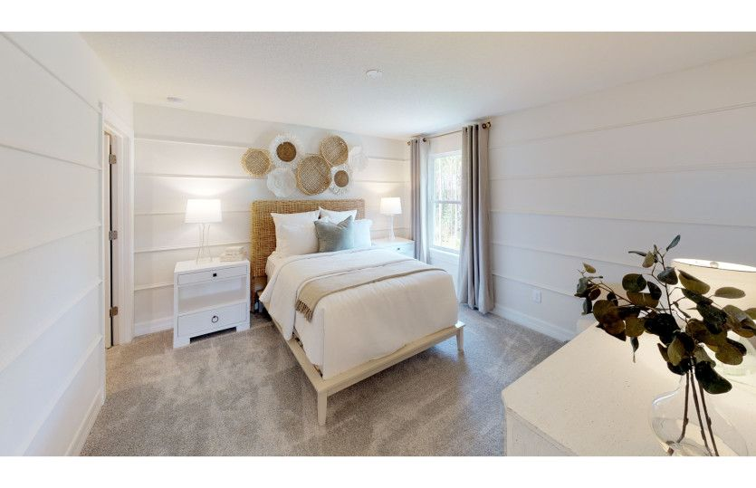 Bedroom featured in the Mystique By Del Webb in Hilton Head, SC