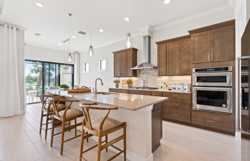 Kitchen featured in the Prestige By Del Webb in Raleigh-Durham-Chapel Hill, NC