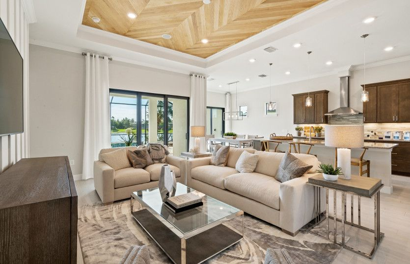 Living Area featured in the Prestige By Del Webb in Raleigh-Durham-Chapel Hill, NC