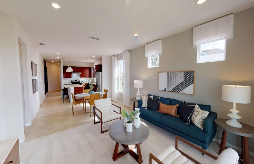 Living Area featured in the Contour By Del Webb in Hilton Head, SC