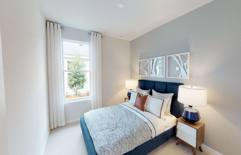 Bedroom featured in the Contour By Del Webb in Hilton Head, SC