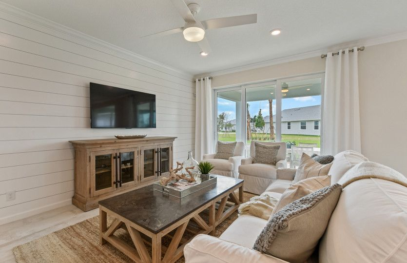 Living Area featured in the Prosperity By Del Webb in Naples, FL