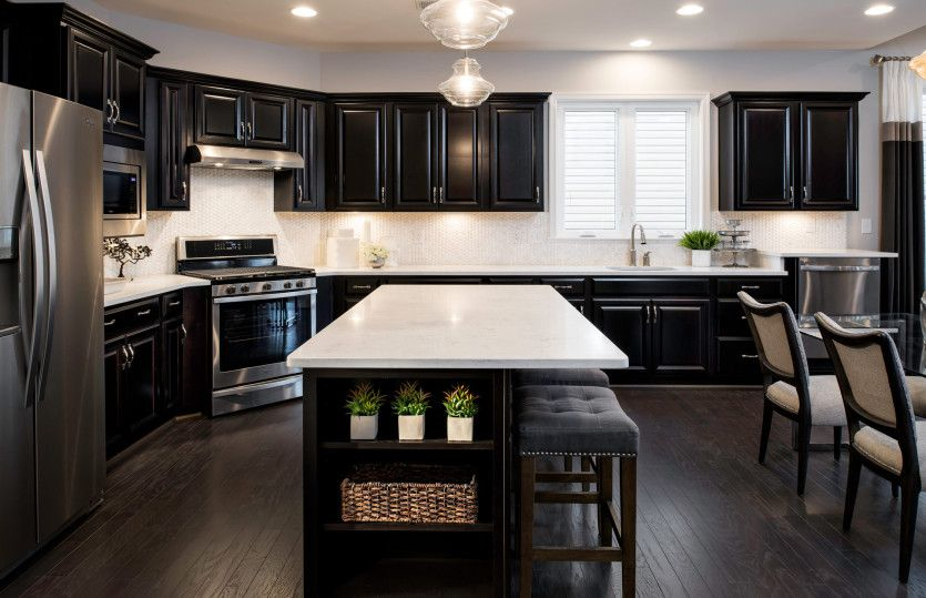 Kitchen featured in the Burgundy By Del Webb in Washington, VA