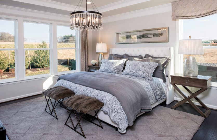 Bedroom featured in the Burgundy By Del Webb in Washington, VA