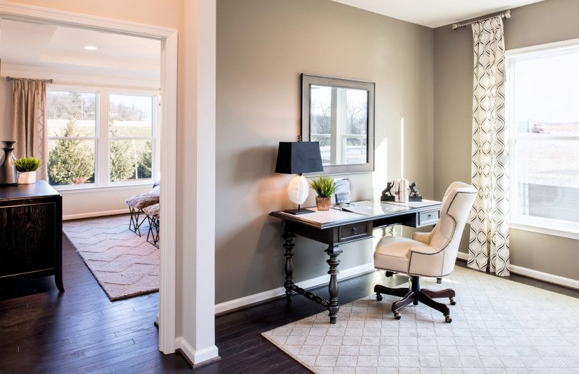Living Area featured in the Burgundy By Del Webb in Washington, VA