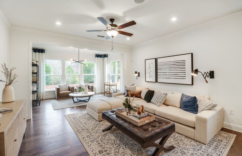 Living Area featured in the Steel Creek By Del Webb in Atlanta, GA