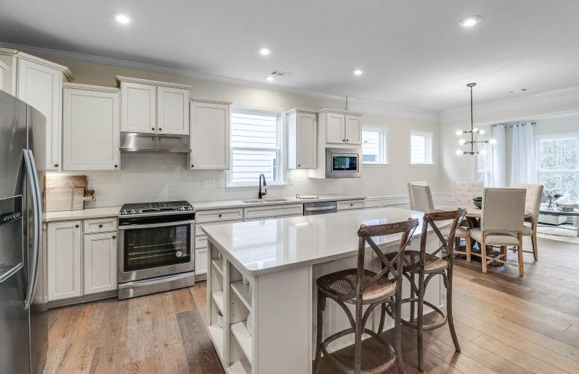 Kitchen featured in the Abbeyville By Del Webb in Athens, GA