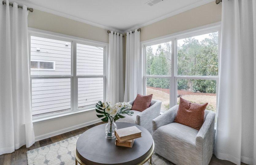 Living Area featured in the Abbeyville By Del Webb in Atlanta, GA