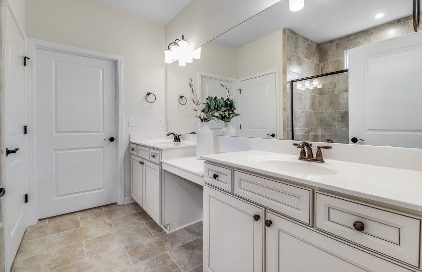 Bathroom featured in the Abbeyville By Del Webb in Athens, GA