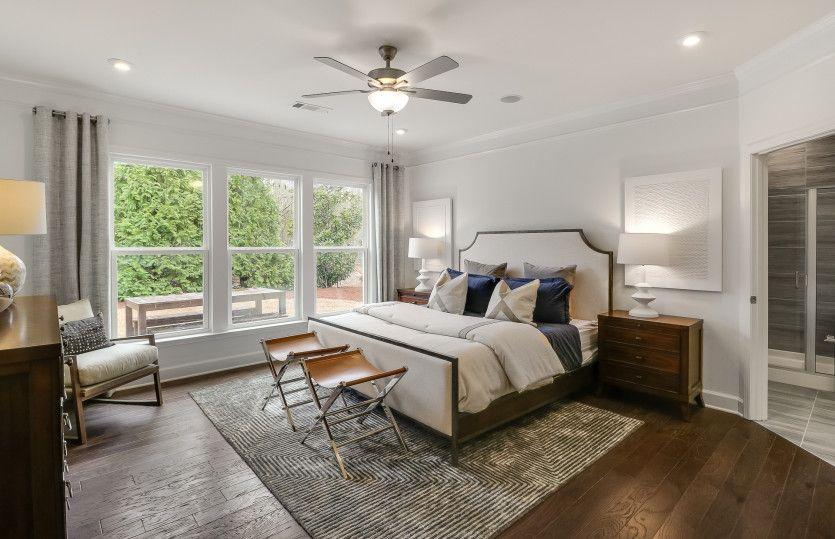 Bedroom featured in the Martin Ray By Del Webb in Atlanta, GA