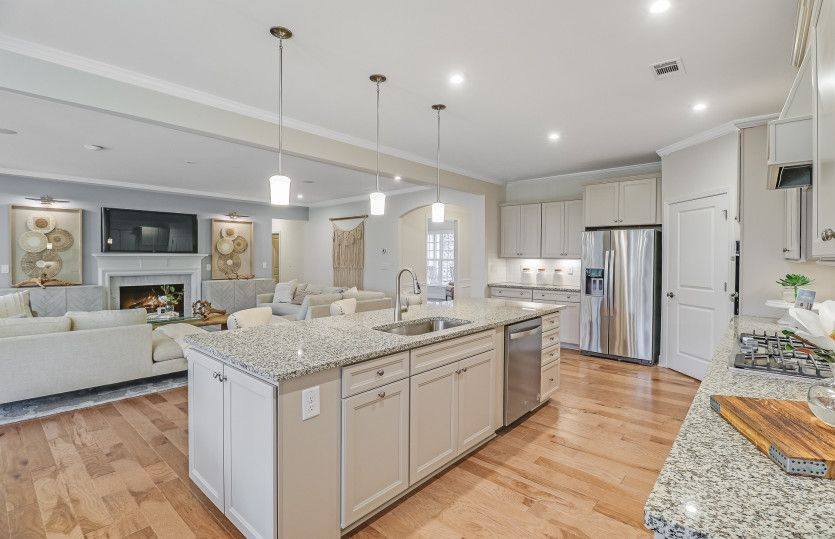 Kitchen featured in the Dunwoody Way By Del Webb in Atlanta, GA