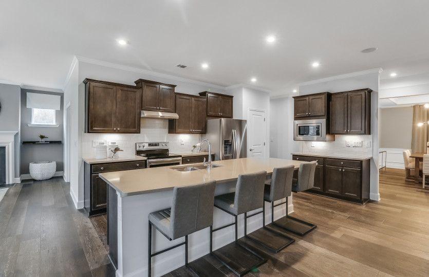 Kitchen featured in the Napa Valley By Del Webb in Atlanta, GA