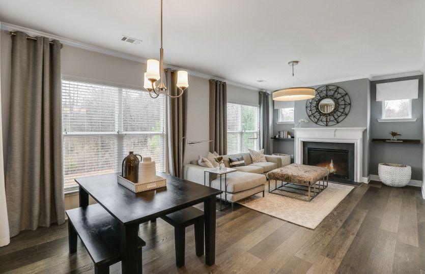Living Area featured in the Napa Valley By Del Webb in Atlanta, GA