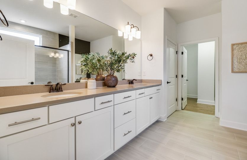 Bathroom featured in the Sonoma Cove By Del Webb in Atlanta, GA