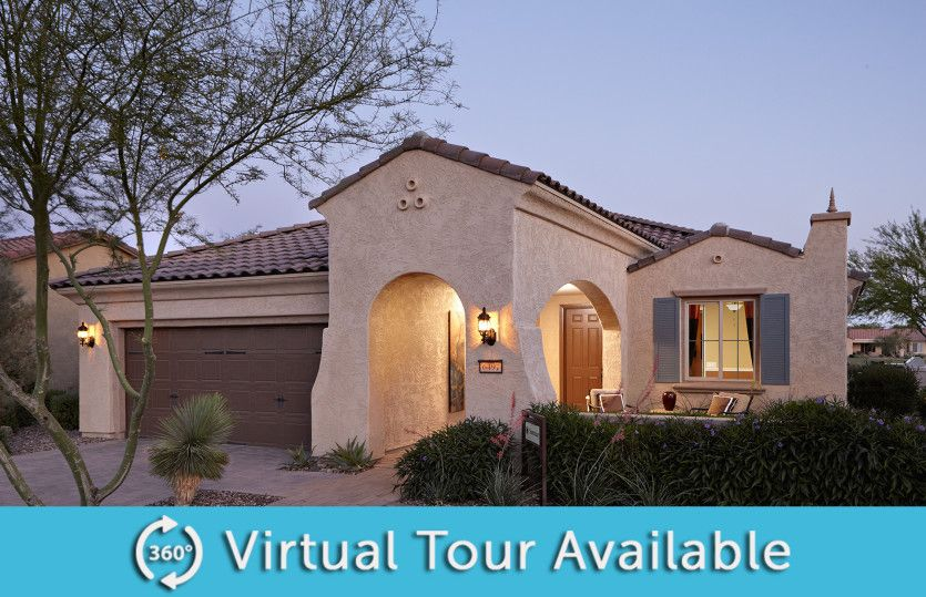 Exterior featured in the Sanctuary By Del Webb in Phoenix-Mesa, AZ