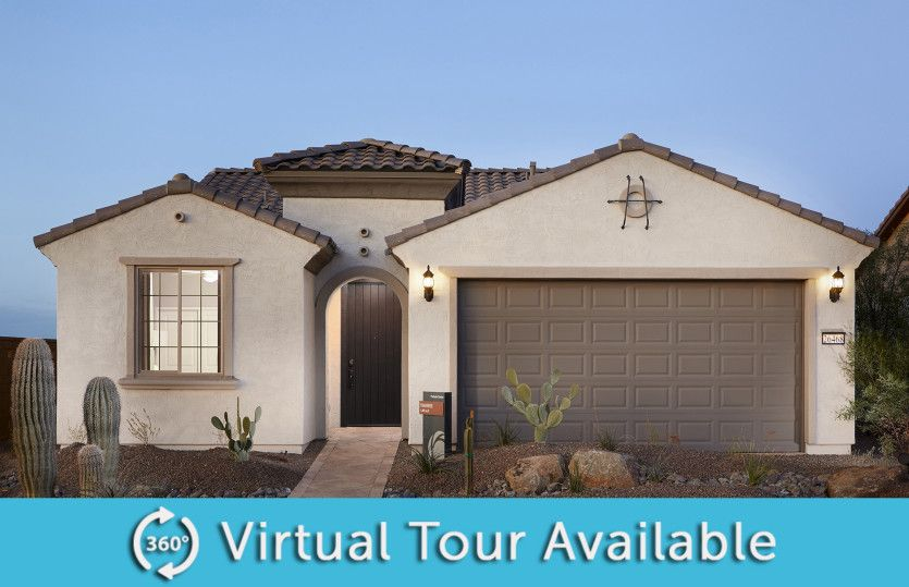 Exterior featured in the Traverse By Del Webb in Phoenix-Mesa, AZ