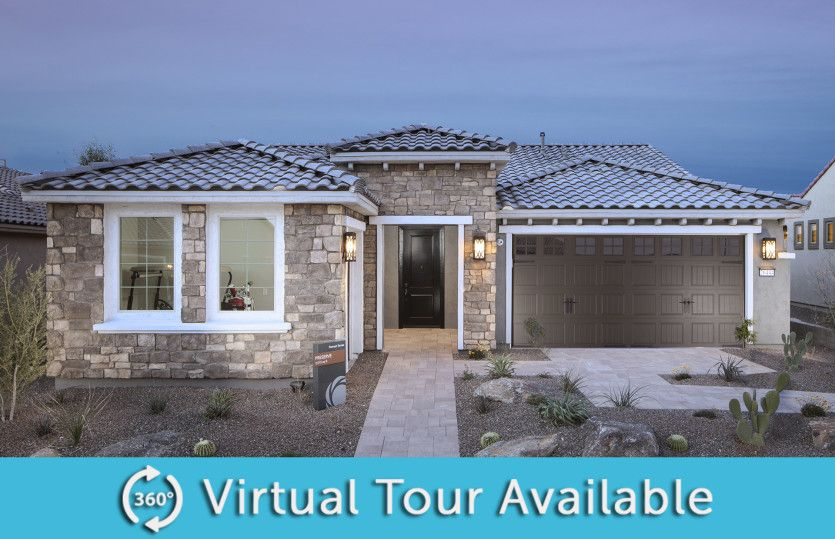 Exterior featured in the Preserve By Del Webb in Phoenix-Mesa, AZ