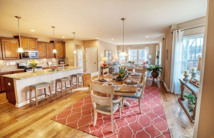 Kitchen featured in the Florence By Del Webb in New Haven-Meriden, CT