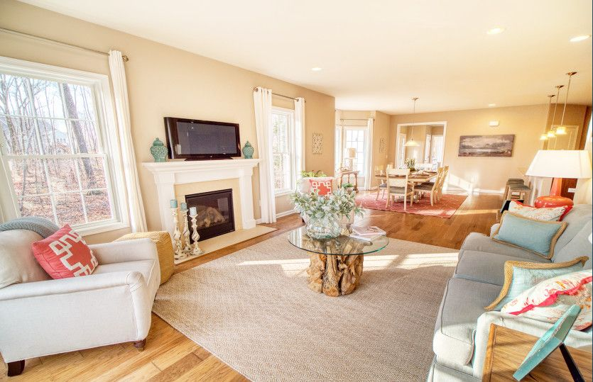 Living Area featured in the Florence By Del Webb in New Haven-Meriden, CT