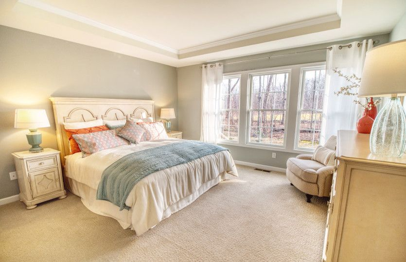 Bedroom featured in the Florence By Del Webb in New Haven-Meriden, CT