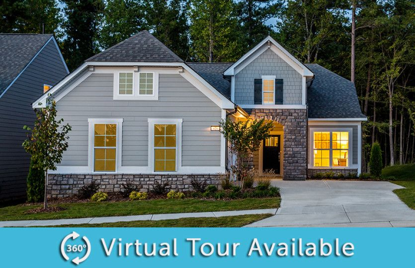 Exterior featured in the Castle Rock By Del Webb in Raleigh-Durham-Chapel Hill, NC