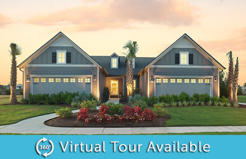 Exterior featured in the Cressida By Del Webb in Myrtle Beach, SC