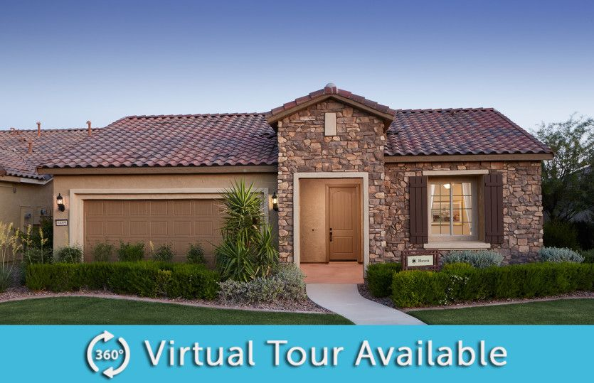 Exterior featured in the Haven By Del Webb in Phoenix-Mesa, AZ