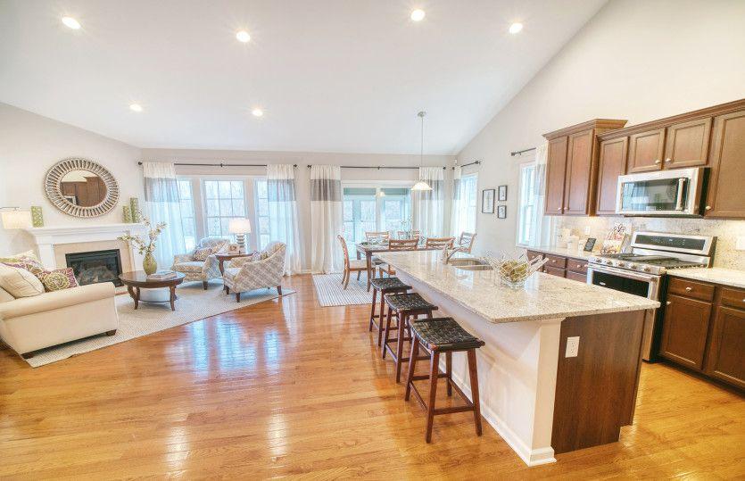 Living Area featured in the Alden By Del Webb in New Haven-Meriden, CT