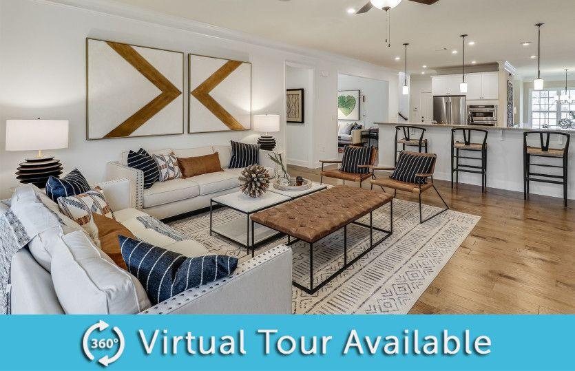 Living Area featured in the Sonoma Cove By Del Webb in Atlanta, GA