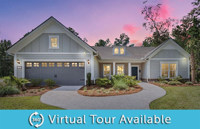 Exterior featured in the Tangerly Oak By Del Webb in Myrtle Beach, SC