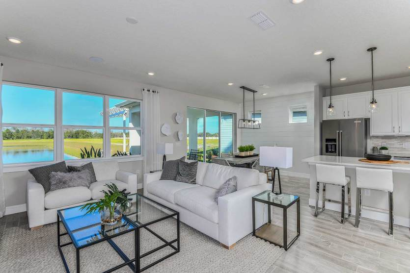 Living Area featured in the Prosperity By Del Webb in Orlando, FL
