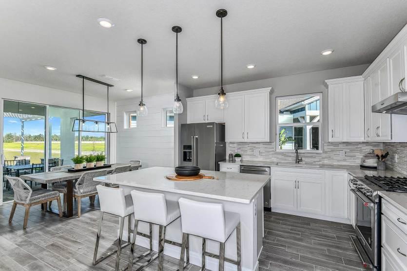 Kitchen featured in the Prosperity By Del Webb in Orlando, FL
