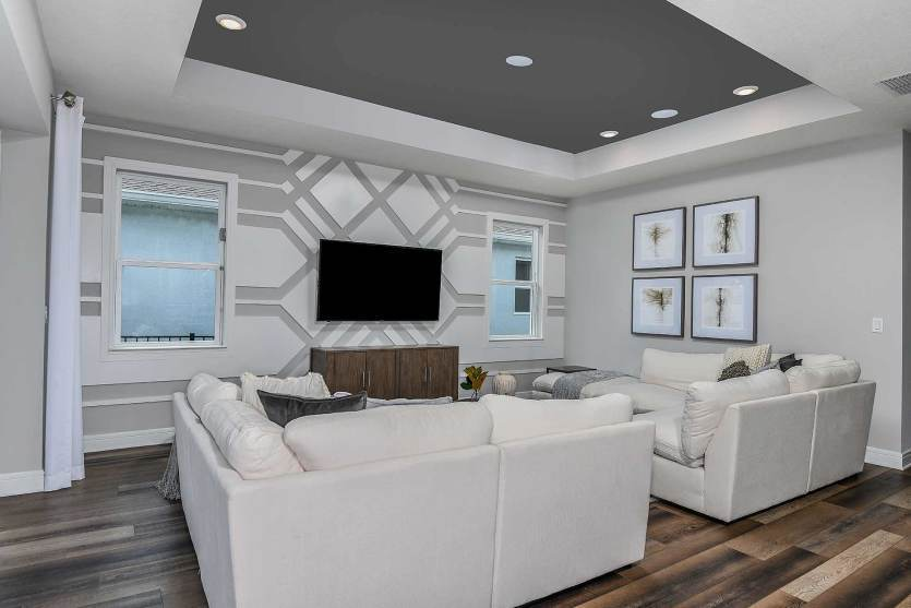 Living Area featured in the Mystique By Del Webb in Orlando, FL