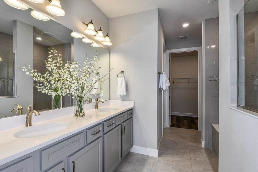 Bathroom featured in the Mystique By Del Webb in Orlando, FL