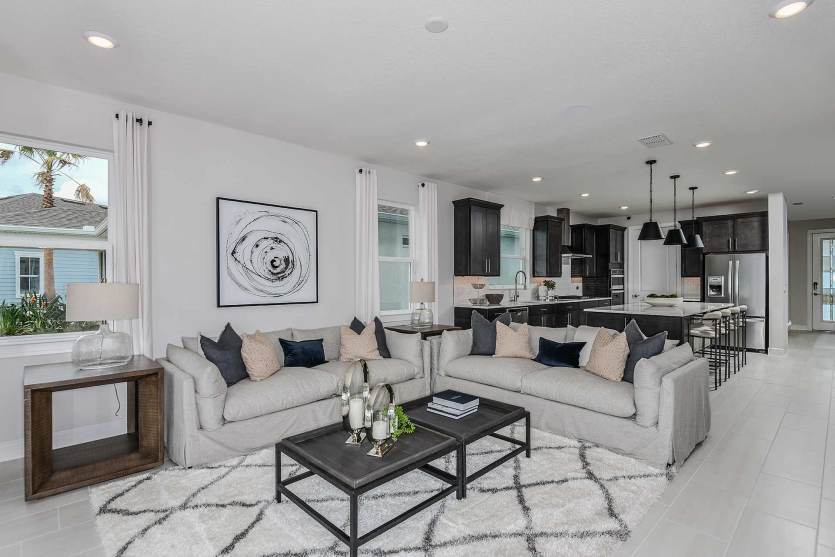 Living Area featured in the Mainstay Grand By Del Webb in Orlando, FL