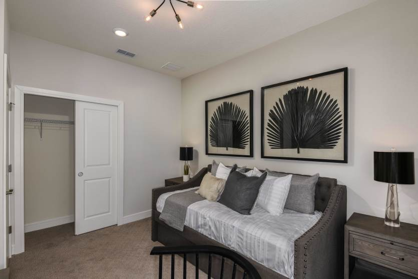 Bedroom featured in the Mainstay Grand By Del Webb in Orlando, FL