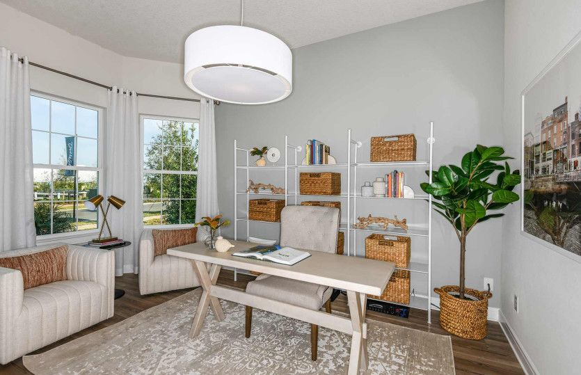 Living Area featured in the Mainstay By Del Webb in Tampa-St. Petersburg, FL