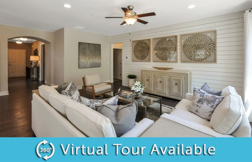 Living Area featured in the Abbeyville By Del Webb in Athens, GA