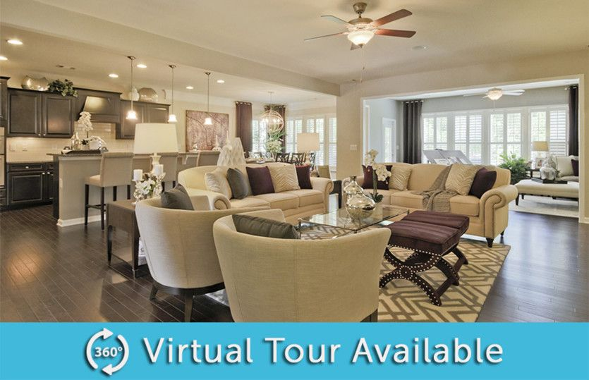 Living Area featured in the Dunwoody Way By Del Webb in Athens, GA