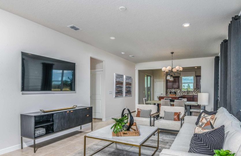 Living Area featured in the Compass By Del Webb in Ocala, FL