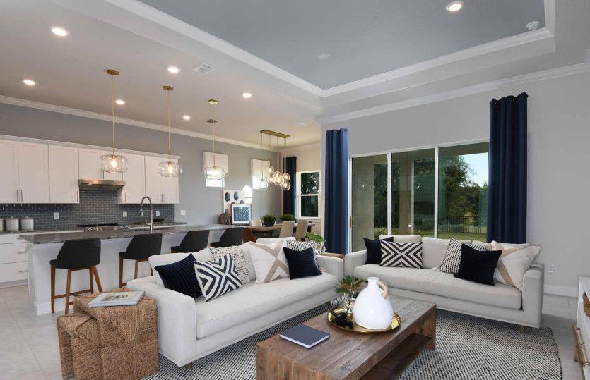 Living Area featured in the Prestige By Del Webb in Sarasota-Bradenton, FL