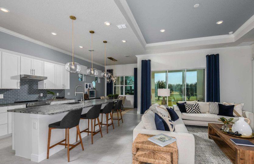 Living Area featured in the Prestige By Del Webb in Ocala, FL